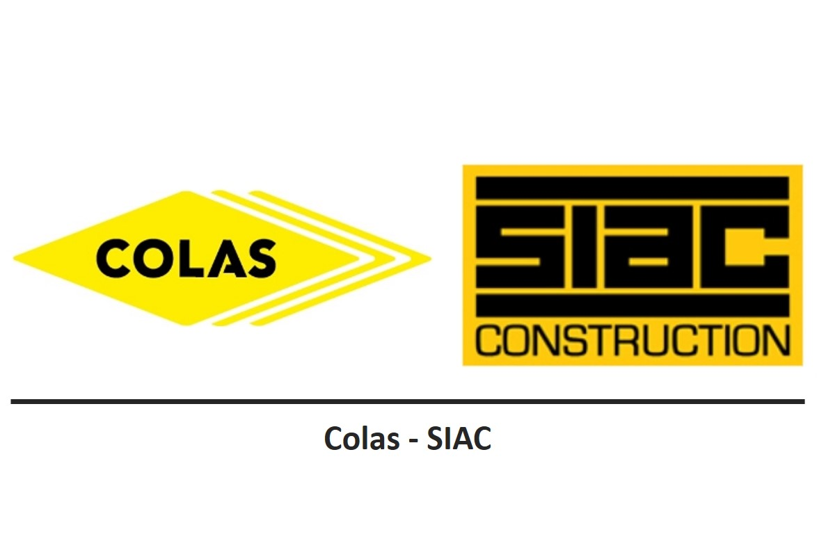 Colas and SIAC Construction JV logos