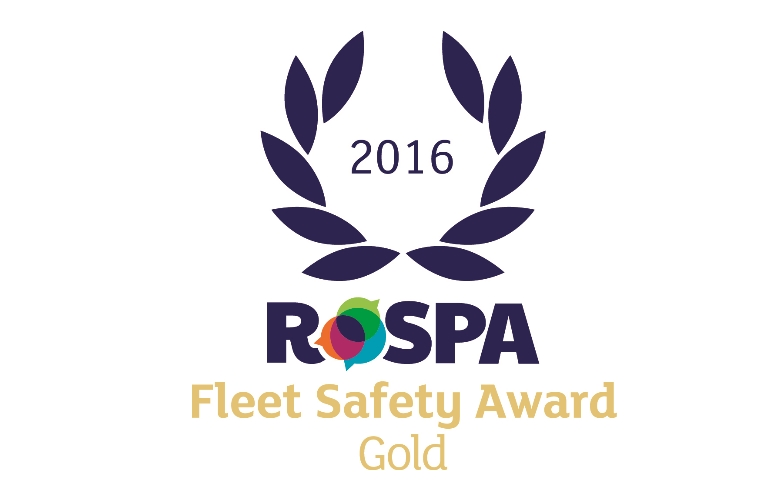 ROSPA Fleet Safety Award gold