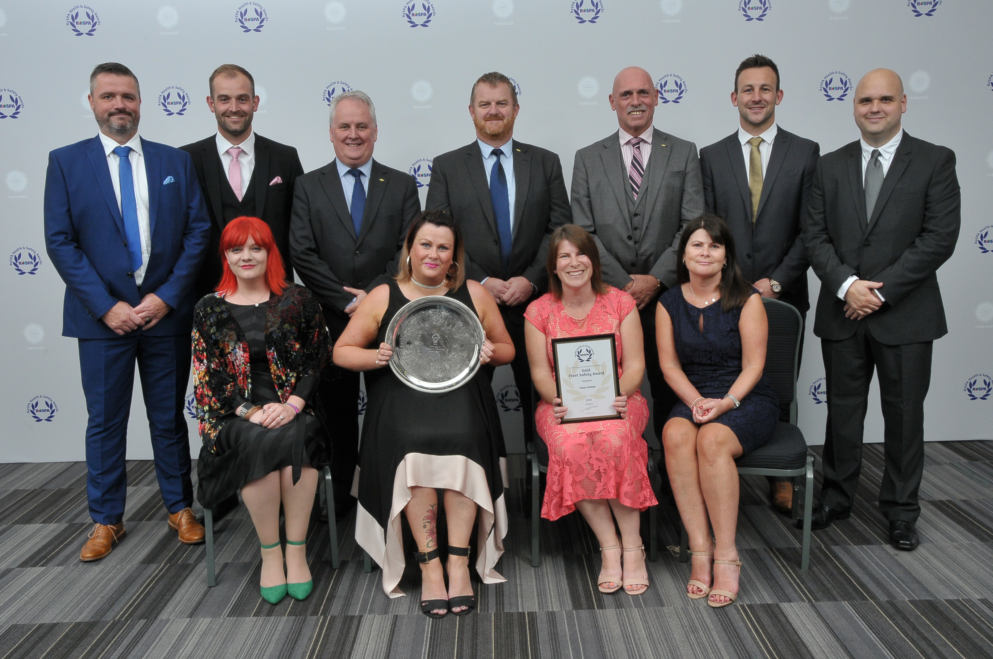 Colas receive highest ever award from RoSPA