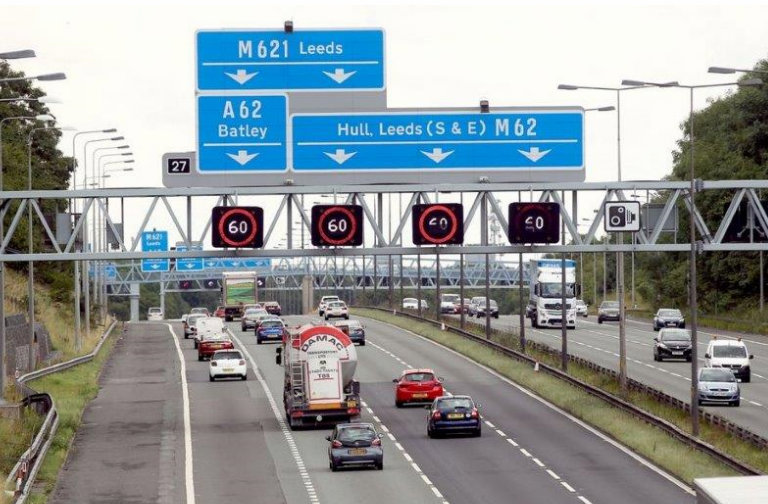 Colas drives forward with M62 safety improvements