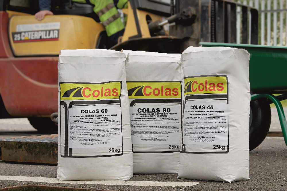 Colas Mortar Products C45 C60 C90