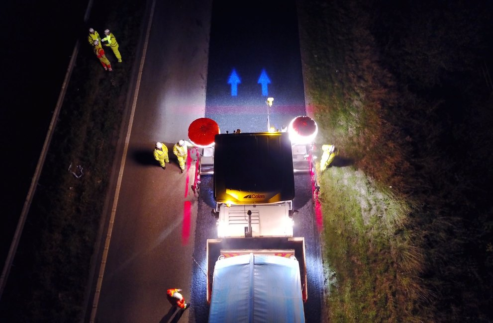 Colas Ltd Lighting the way for improved safety