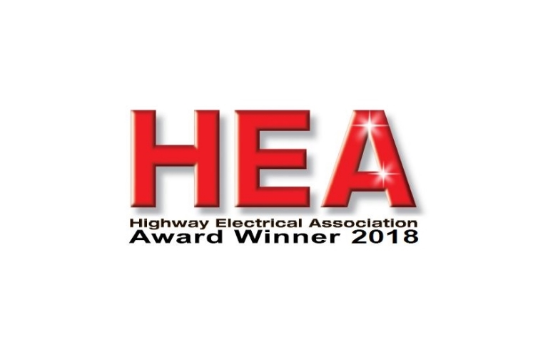 Highway Electrical Association Award Winner 2018 logo
