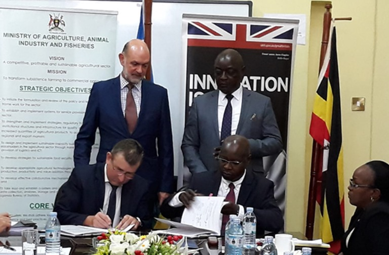 Colas in deal for £100 million Uganda project