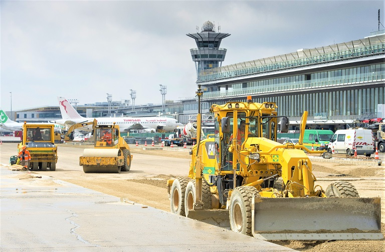 UK Team collaborate with Colas France on major Paris-Orly airport runway renovation